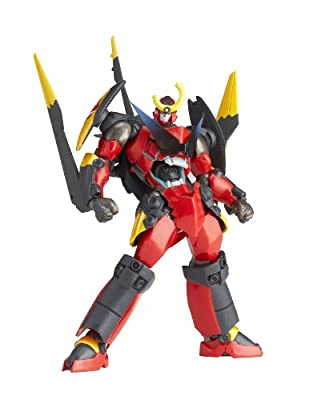 Revoltech Gurren Lagann (with Gurren Wing Ver.) (120 mm PVC Figure) Series No.119 Yamaguchi [JAPAN] by Kaiyodo