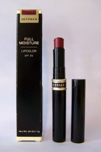 (Ultima II Full Moisture SPF 25 Lipcolor Lipstick .06 Oz - Sienna)