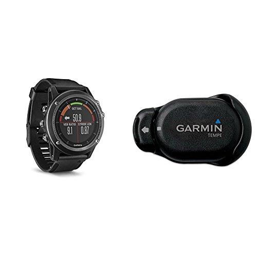 Garmin Fenix 3 HR, Gray w/ Temperature Sensor