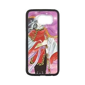 Samsung Galaxy S6 Cell Phone Case White Fushigi Yuugi Q0278373