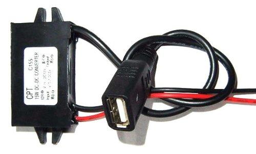 Autek DC Converter Buck Module 12V convert to 5V usb output power adapter(DCCON-5U-0)