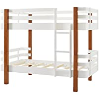 Dorel Asia DA7951 Nico Rounded Corner Bunk Bed, Twin
