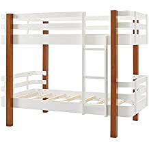 Dorel Living DA7951 Nico Rounded Corner Bunk Bed, Twin