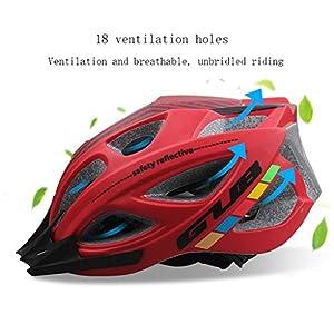 Cycle Casque de vélo de vélo Planche à roulettes Scooter Hoverboard Casque Riding sécurité légère réglable respirant Casque for Hommes Femmes Enfants Enfants avec Visor Casques de cyclisme unisexes Al