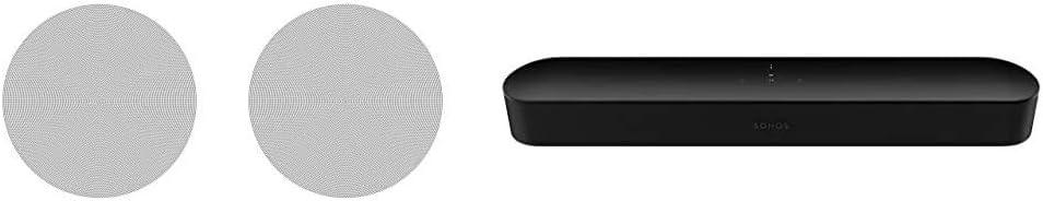 Sonos in-Ceiling Speakers Pair of Architectural Speakers by ...