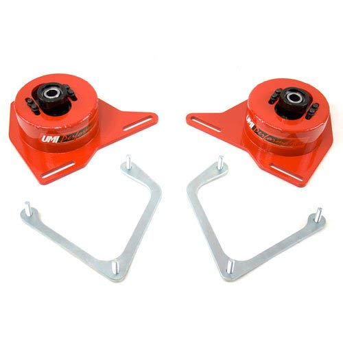 - UMI Performance 2040-R GM F-Body Spherical Caster / Camber Plates - Red