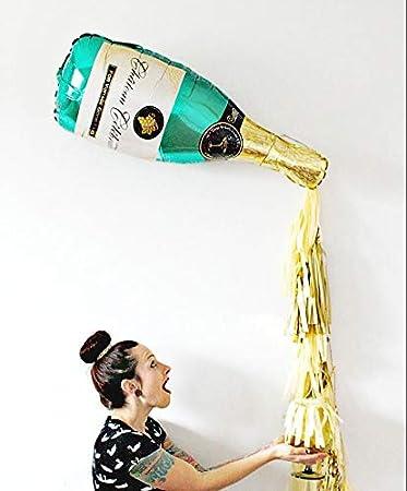 Balloons 5 set Grande Champagne Botella de Vino Copa Foil ...