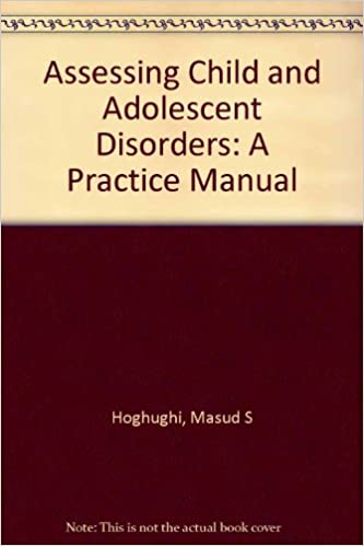 Book Assessing Child and Adolescent Disorders: A Practice Manual