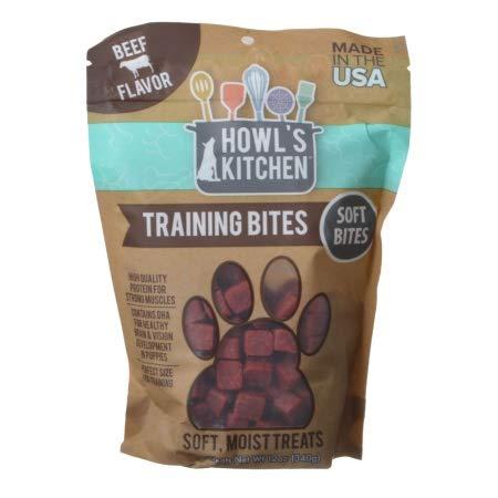 Howl's Kitchen Training Bites Soft Bites - Beef Flavor (12 Pack)