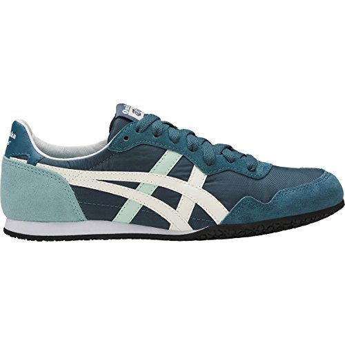 Onitsuka Tiger by Asics Women's Serrano Ink Blue/Cream Sneaker