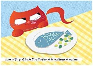 Juego de mesa con diseño de gatos: gargantilla – enseñanzas n.º 3: Amazon.es: Hogar