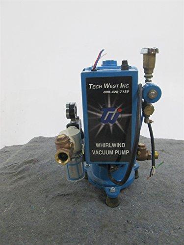 Refurbished Tech West WVPS-2 Dental Single Vacuum Pump w/ 1 Year Warranty