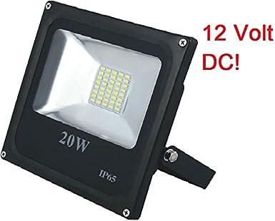 12 V LED SMD LED proyector foco de 20 W de luces de 12 V de ...