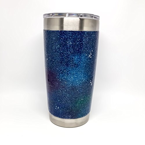 Galaxy Glitter Yeti Rambler Tumbler 20 oz or 30 oz - Completely Sealed, All the Sparkle and None of the Mess! by YETI