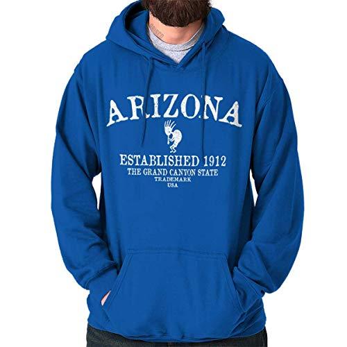 Diamondback Hooded Blue Sweatshirt - Arizona State - Trademark Printed Hooded Sweatshirt