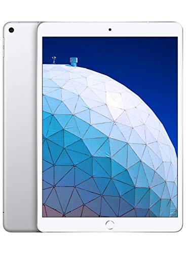 Apple iPadAir (10.5-inch, Wi-Fi + Cellular, 64GB) - Silver (Latest Model) (Renewed)