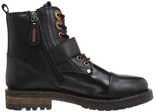 Callisto Kvinna Aerow Ingenjör Boot Svart Läder