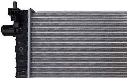 TYC 13590 Compatible with CHEVROLET Spark Replacement Radiator