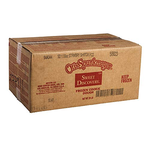 Otis Spunkmeyer Frozen Strawberry Shortcake Cookie Dough 1.33 oz Pack of 240 by Otis Spunkmeyer (Image #2)
