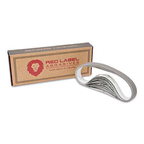 1/2 X 12 Inch Ultra Fine P5000 Grit Knife Sharpener Sanding Belts, 10 Pack (Compatible with Work Sharp Knife & Tool Sharpener)