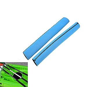 SparY Pagaia per Kayak Impugnature Cover, 2 Pz/Set Colorati Morbido Antiscivolo Remo Supporto - Neoprene Protezione Racchettone - Previene Attrito, Vesciche/Efficiente Piscina Bambini 12 spesavip