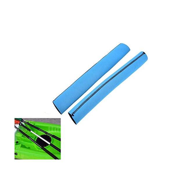 SparY Pagaia per Kayak Impugnature Cover, 2 Pz/Set Colorati Morbido Antiscivolo Remo Supporto - Neoprene Protezione… 1 spesavip
