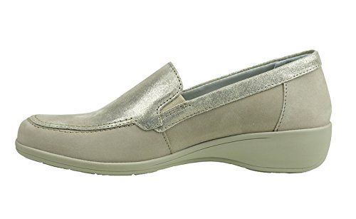 8 slipper 942028 Taupe Beige Comfortabel Damen 6FCUqfO