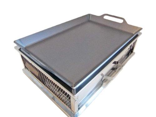 コールマン クールスパイダーステンレスグリル 対応 グリルプレート 板厚6.0mm (グリル本体は商品に含まれません) B00HTM7I66