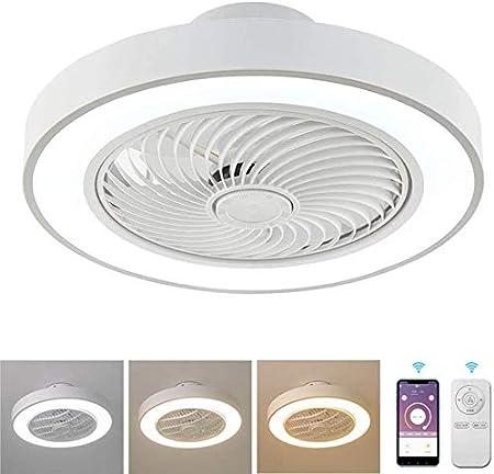 Lámpara de techo Los ventiladores de techo con lámparas, luz de ...
