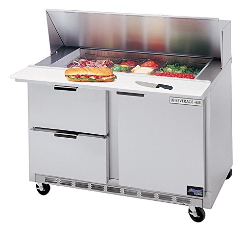 - Beverage-Air SPED48-12-4 SPED48-12M-4 Mega Top Refrigerated Salad/Sandwich Prep