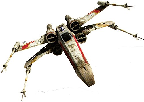 6 Inch Rebel Alliance X Wing XWing Fighter Star Wars Classic Episode IV Removable Wall Decal Sticker Art Home Decor Kids Room-6 Inches Wide By 3 Inches Tall