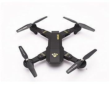 Drone Visuo XS809HW plegable, FPV, cámara con 2 MP, WiFi, control ...