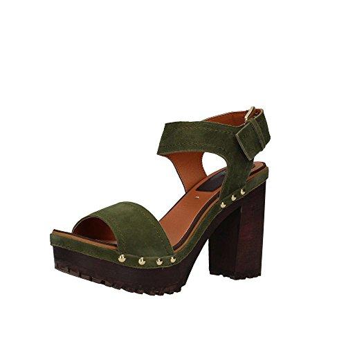 talons GIOSEPPO chaussures Couleur sandales en des à Spor bois verte 39067 75 FFTxOH