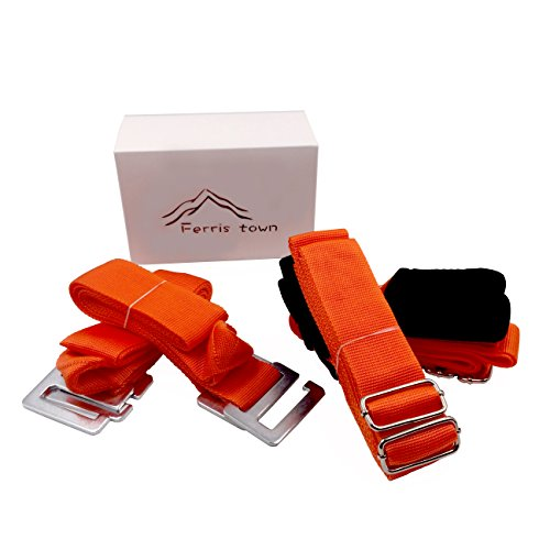 Ergonomic Adjustable Length Home Furniture Moving Straps For 2 Person Strong Durable Lifting