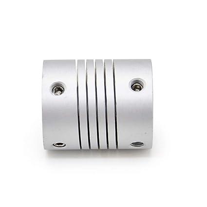 CNC - Acoplamiento de eje de 25 mm de longitud, 19 mm de diámetro ...