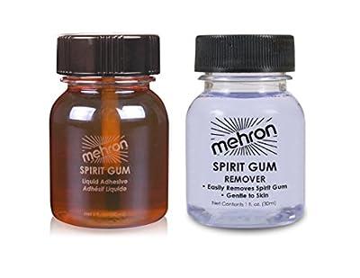 mehron Spirt Gum And Remover Set 30Ml