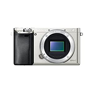 Sony Alpha a6000 Mirrorless Digital Camera – Body only (Silver) – International Version (No Warranty)