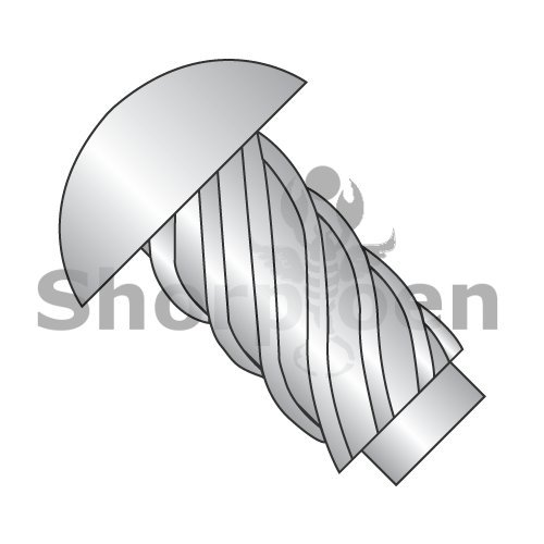 Round Head Type U Drive Screw 316 Stainless Steel 6 x 3/8 (Box of 10000) weight19.9Lbs by Korpek.com