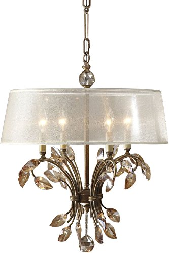 Uttermost 21245 Alenya 4-Light Chandelier 20.75 x 25.375