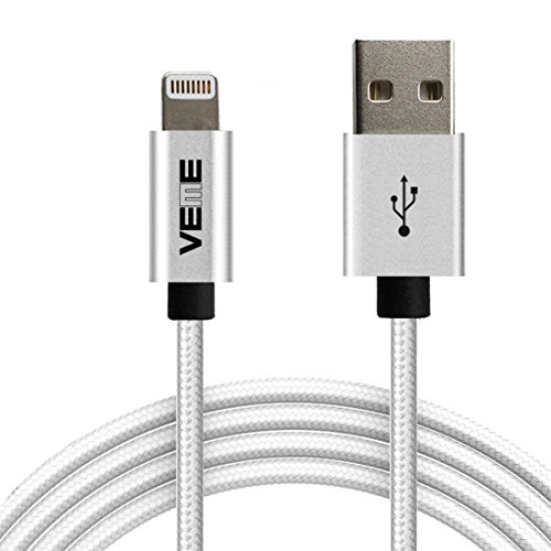 VEME MFi Certified Lightning To USB Charging Cable For IPhone X 8 Plus