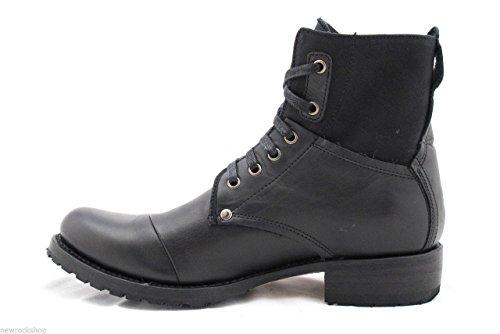 Sendra 9801 Chukka Boots Schwarz Leder Unisex Stiefeletten