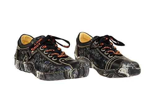 001 et Eject classique à lacets 14195 coupe Chaussures femme Noir 2 qxqrSEHY