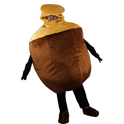 Screw nut Mascot Costume Cartoon Character Adult Sz Real Picture 2