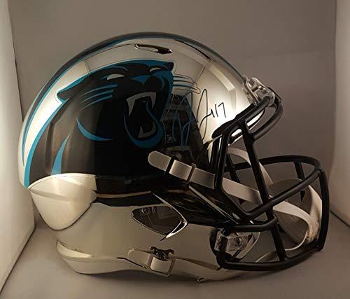 Carolina Panthers Signed Helmets. Devin Funchess Autographed Signed Full  Size Chrome Helmet Carolina Panthers JSA bf16cbac0