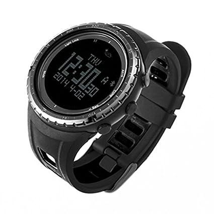 MingXiao Bluetooth 4.0 Reloj Deportivo Digital Inteligente Reloj Deportivo al Aire Libre Hombres Altímetro Barómetro Brújula