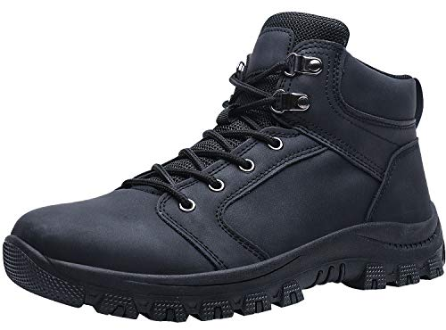 Caitin Men's Insulated Cold-Weather Boots Durable Hiking ()