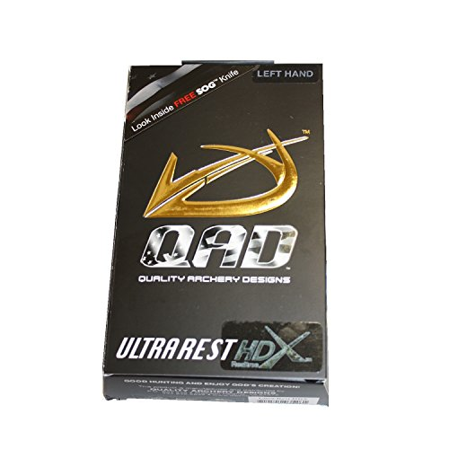 Quality Archery Products HDX Arrow Rest (Realtree APG Camo, Left Hand)