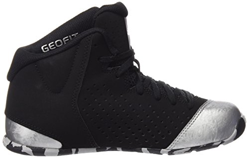 wholesale dealer c91f4 2b8ef Adidas Unisex Nxt Lvl SPD Iv NBA K Black and Silver Sports Shoes - 4  UK India (36.7 EU)  Buy Online at Low Prices in India - Amazon.in