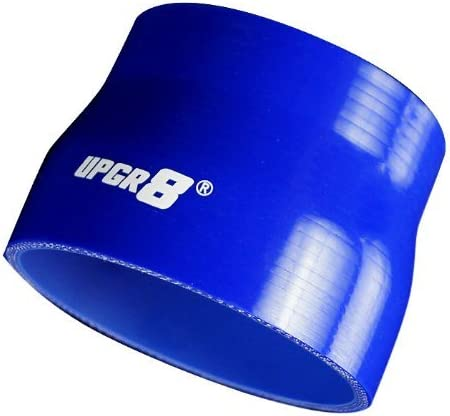 , Blue 63MM to 2.5 2.0 Upgr8 Universal 4-Ply High Performance Straight Reducer Coupler Silicone Hose 51MM