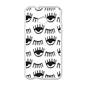 Dark Eye Fashion Personalized Phone Case For HTC M7 by lolosakes